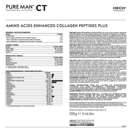 Amino Acids Enhanced Collagen Peptides Plus (300g)