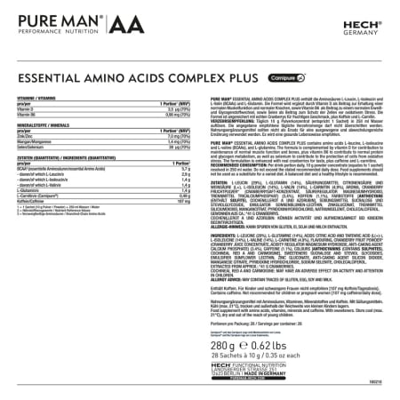 Essential Amino Acids Complex Plus (28x10g)