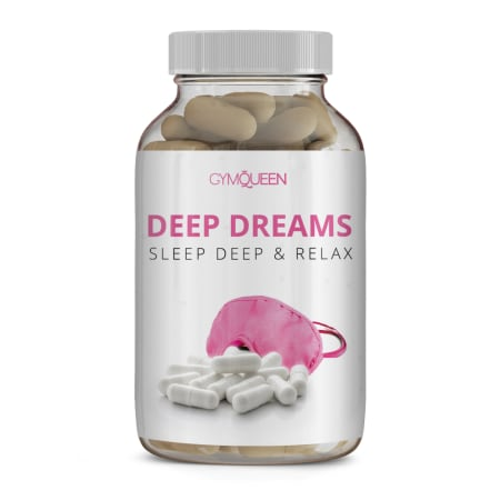 GymQueen Deep Dreams - Anti Stress & Relax (60 Kapseln)