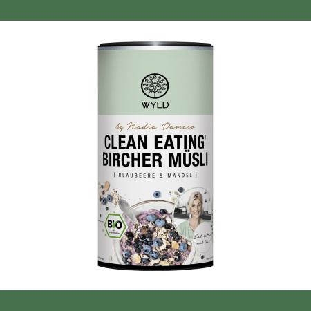 "Bio Clean Eating* Bircher Müsli Blaubeere & Mandel ""by Nadia Damaso"" (350g)"