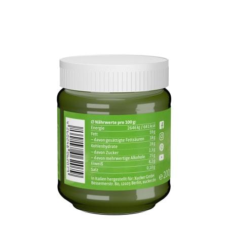 Pistazien-Kokos-Creme mit Xylit ohne Palmöl (200g)
