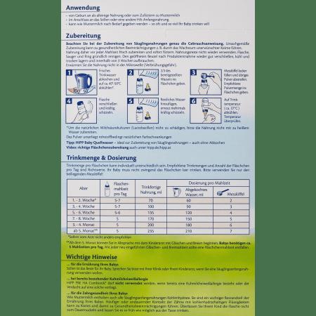 喜宝抗敏免敏水解蛋白婴幼儿奶粉pre段500克 Pre HA Combiotik (500g)