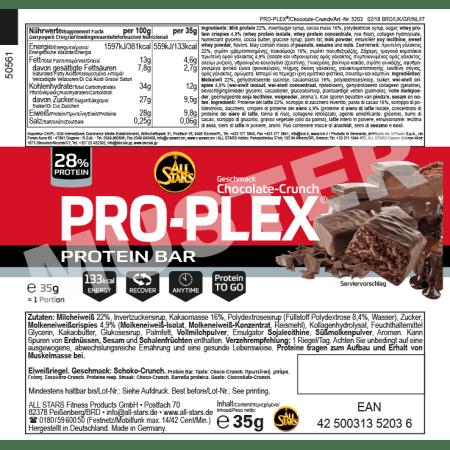 Pro-Plex Bar (32x35g)