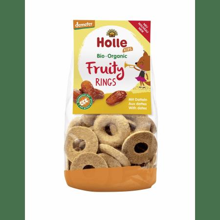Bio-Fruity Rings mit Datteln, ab 3 Jahren (125g)
