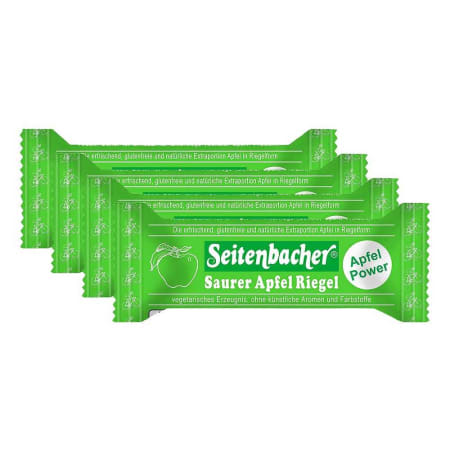 4 x Saurer Apfel Riegel (4x50g)
