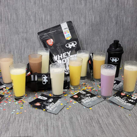 Whey Protein Mixed Sachet - 10 flavours (10x25g)