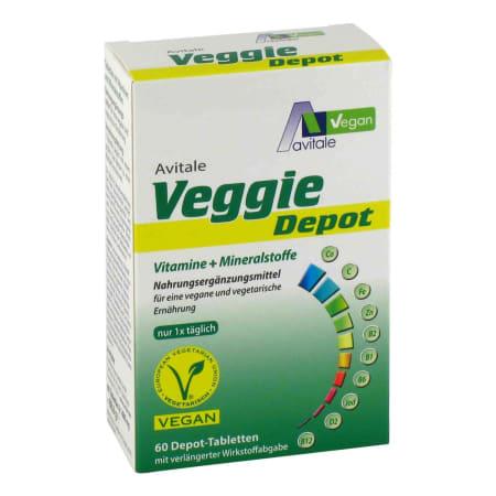 Veggie Depot Vitamine + Mineralstoffe (60 Tabletten)