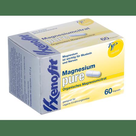 Magnesium pure (60 Kapseln)