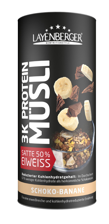 3K Protein Müsli - 360g - Rote Beeren Mix