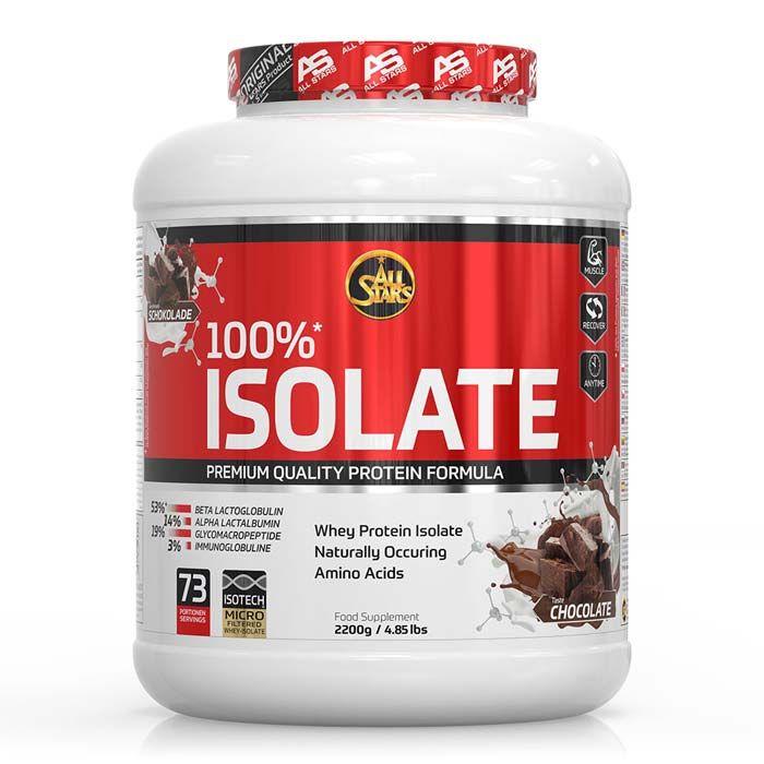 100% Whey Protein Isolate - 2200g - Vanilla