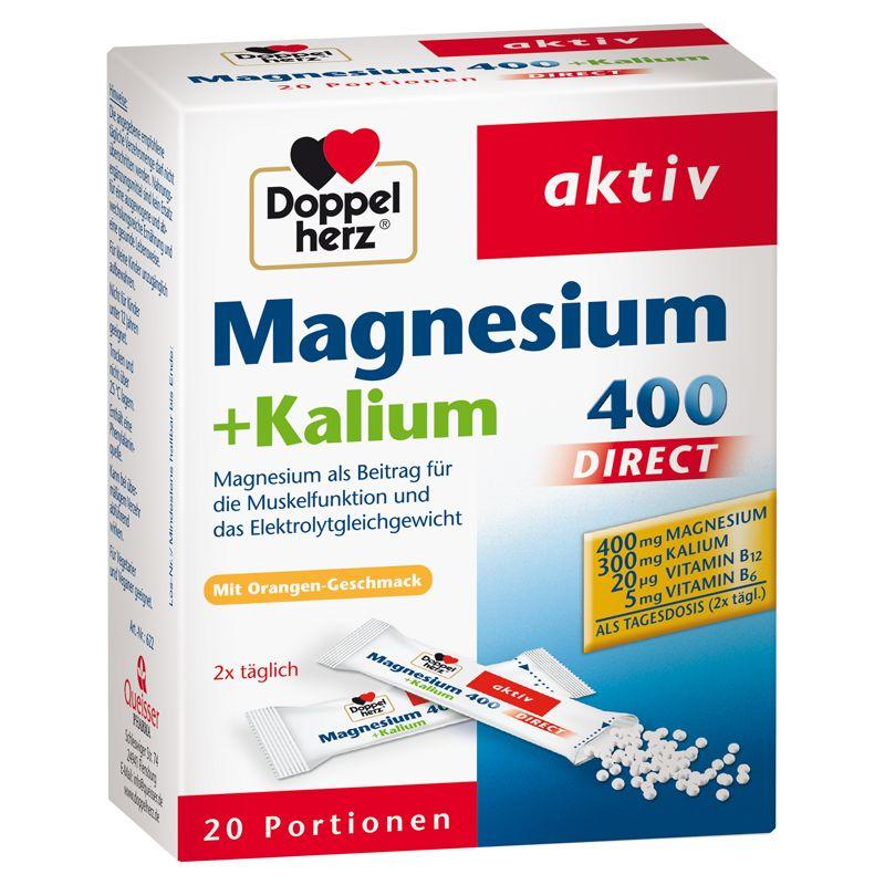 Magnesium + Kalium 400 direct (20x1,9g)