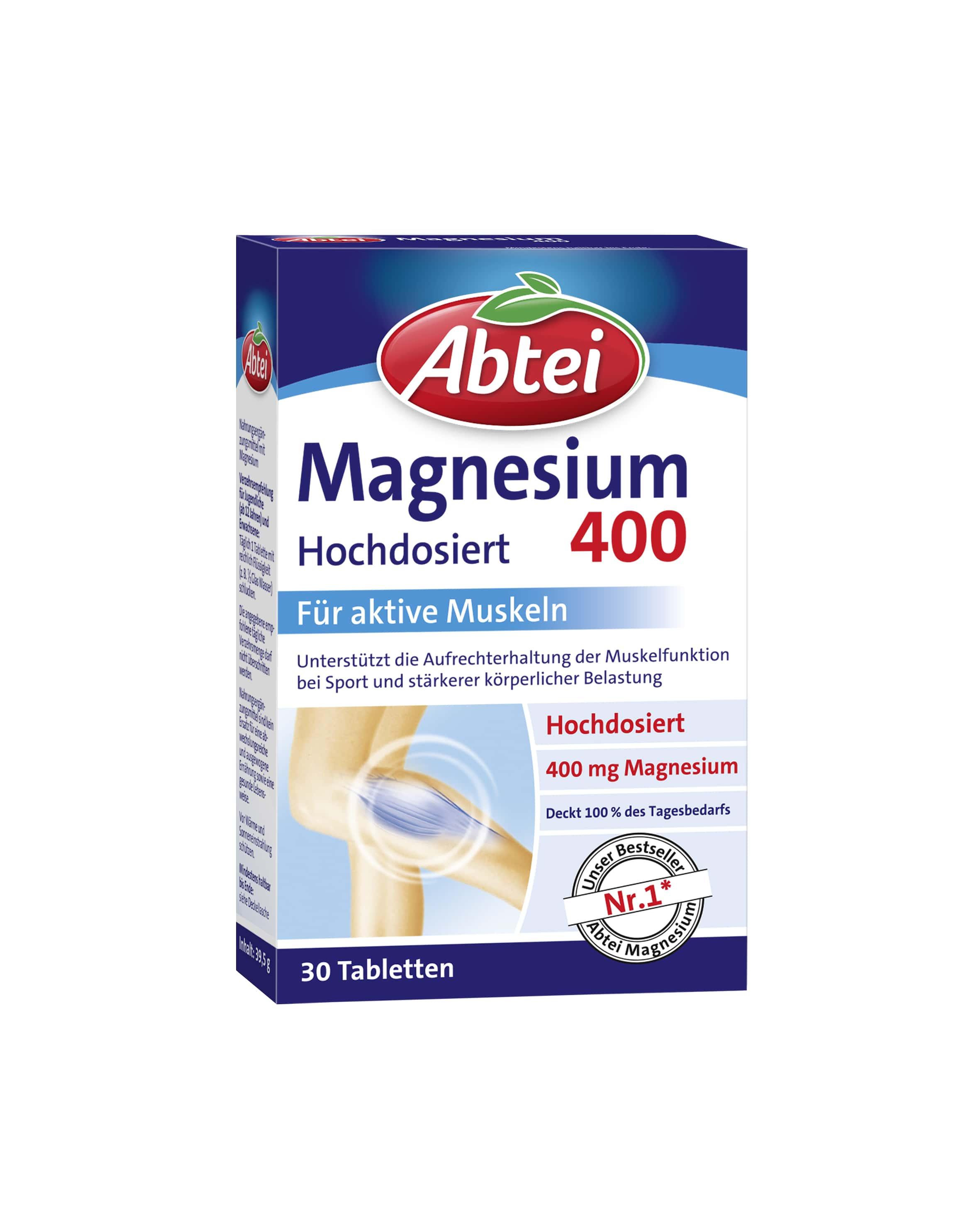 Magnesium 400 (30 Tabletten)
