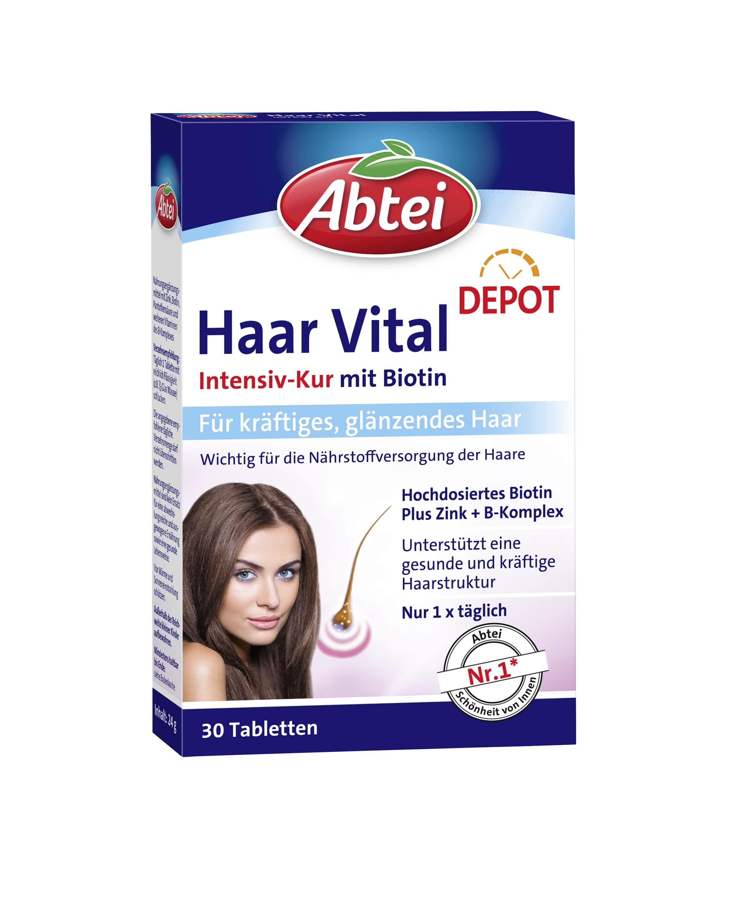 Haar Vital Schönheitskur (30 Tabletten)