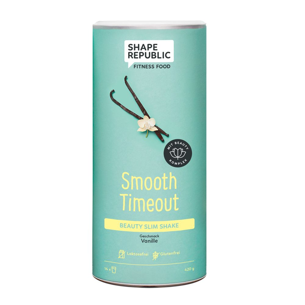 Beauty Slim Shake Vanille »Smooth Timeout« (420g)