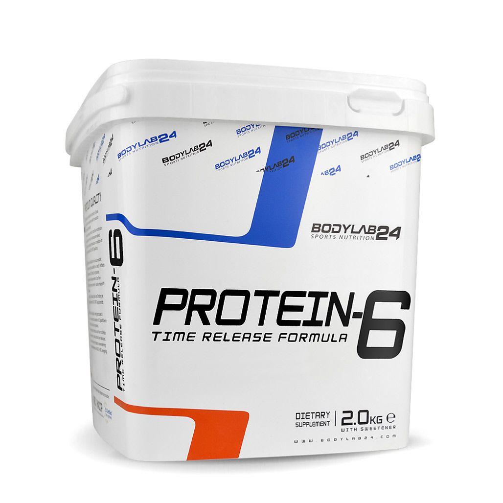 Protein-6 - 2000g - Schokolade-Haselnuss