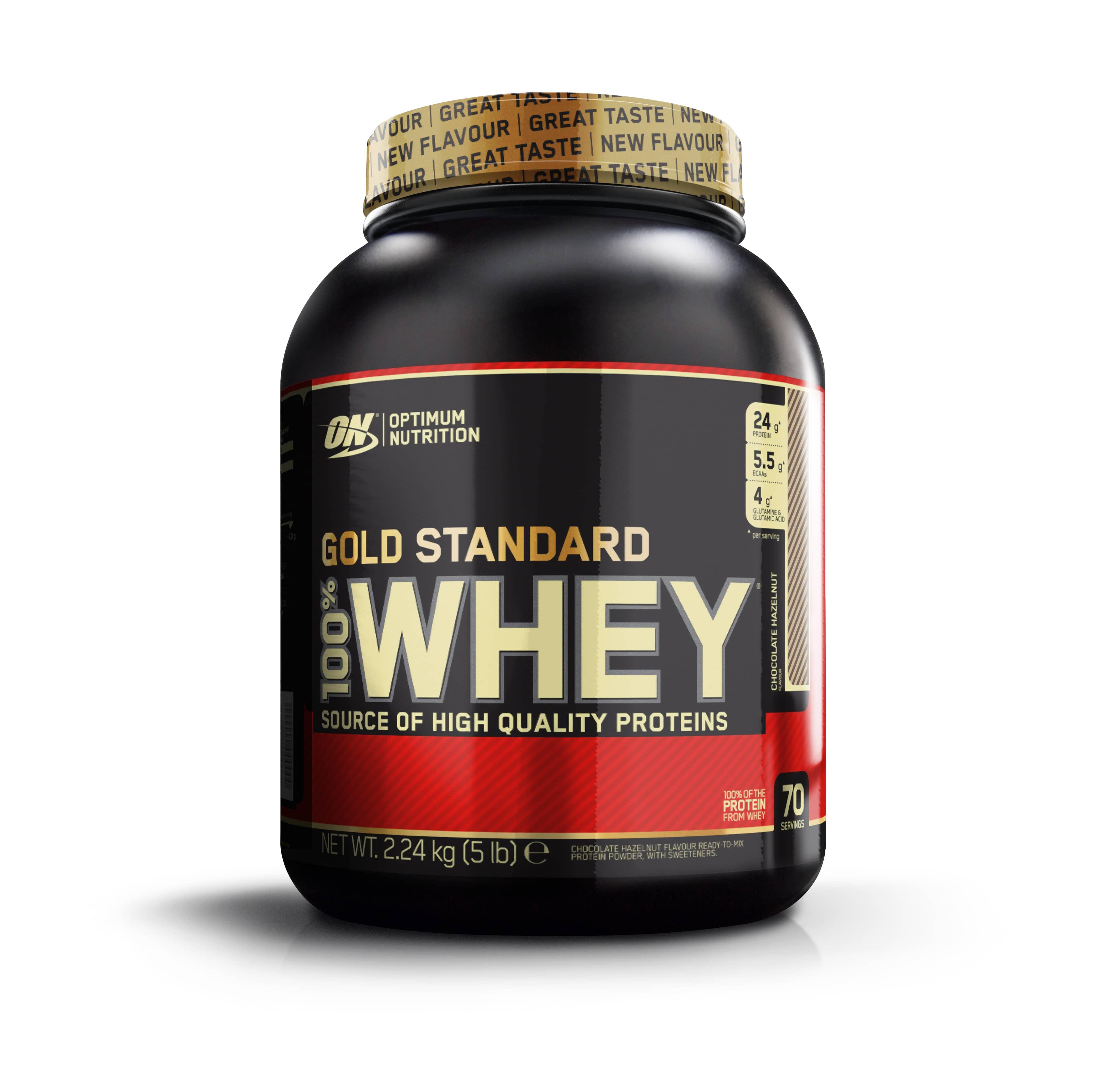 100% Whey Gold Standard - 2273g - Cookies Cream