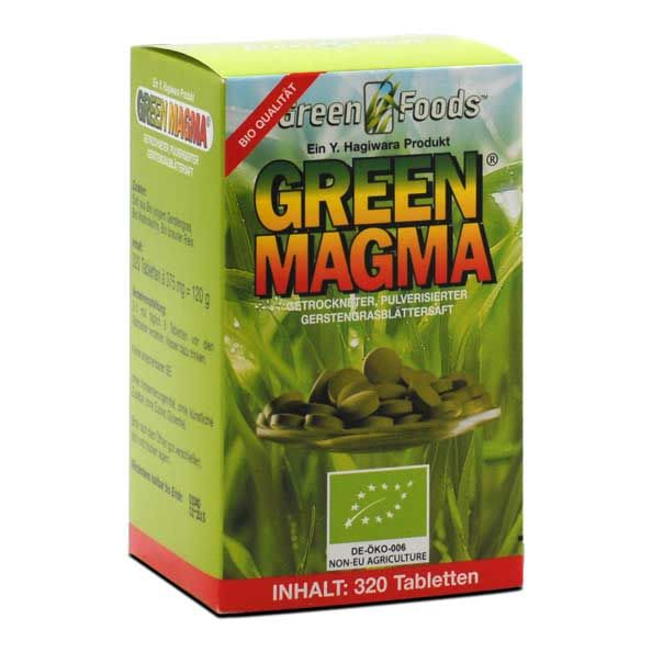 Green Magma Gerstengrasextrakt bio (320 Tabletten)