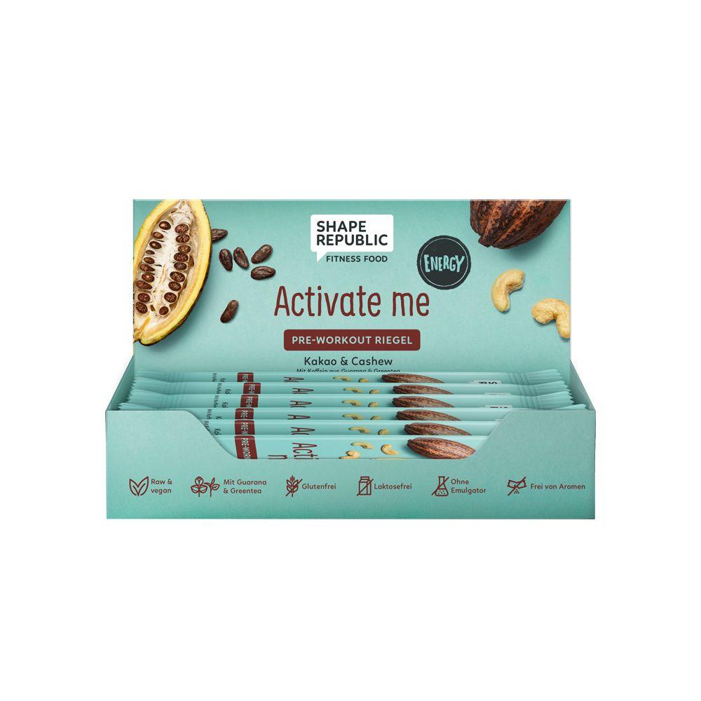 Energy Proteinriegel Kakao & Cashew »Activate Me« (12x40g)