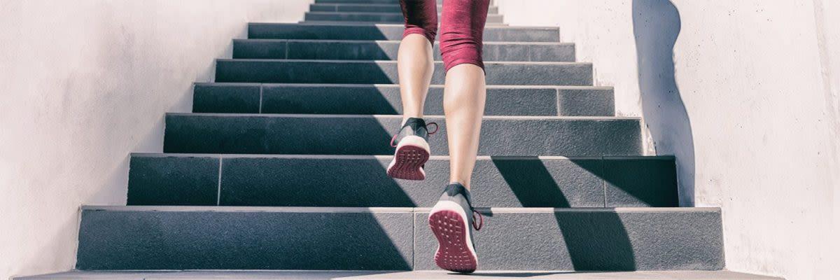 Treppe Fitnessgerät