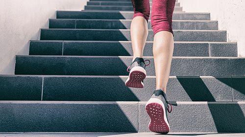 Die Treppe als Fitnessgerät nutzen - neue Ideen aus dem GYM-TALK