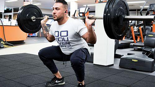 Mehr Muskelmasse - die Bedeutung von zusammengesetzten Übungen