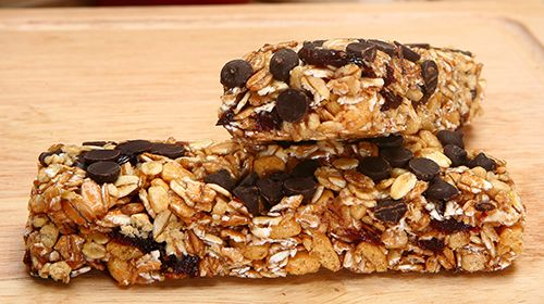 Oatmeal bars – Haferflockenriegel