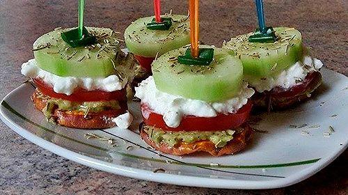 Süßkartoffel mit Avocadocreme