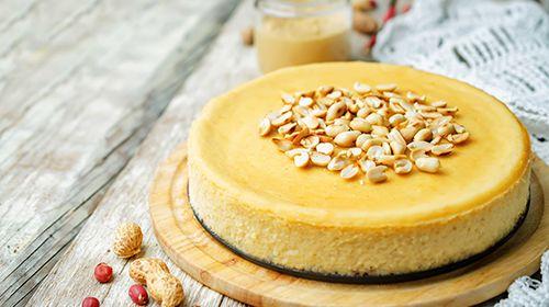 Salty Peanut Cheesecake