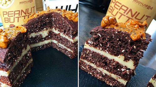 Schoko-Schicht Kuchen