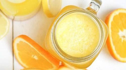 Vitaminbombe - der Zitronen-Ingwer-Smoothie