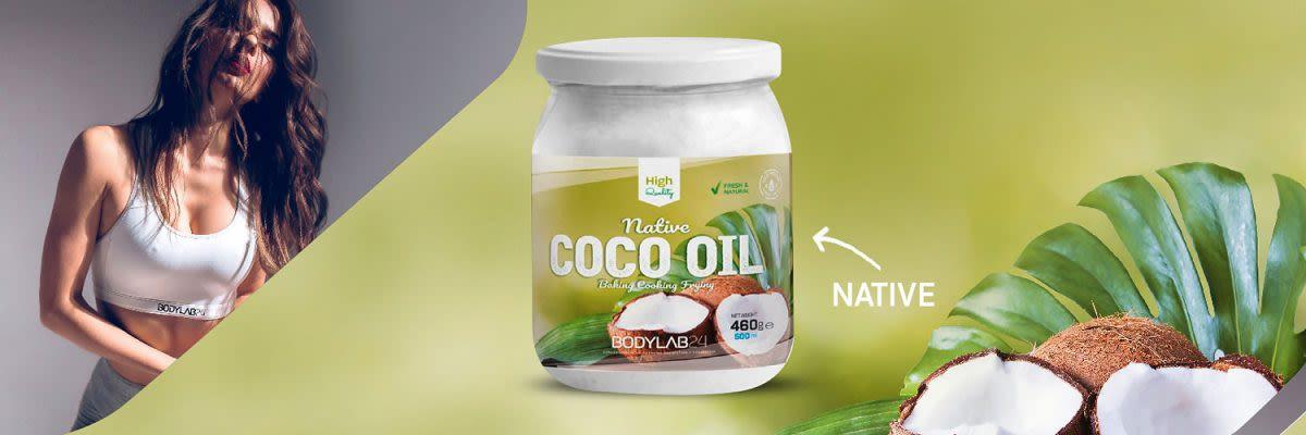 Coco Oil / Kokosöl von Bodylab24