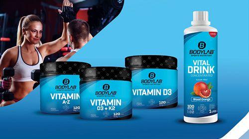 Neue Vitamin-Supplements bei Bodylab24!