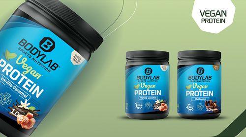 Vegan Protein - jetzt neu bei Bodylab24