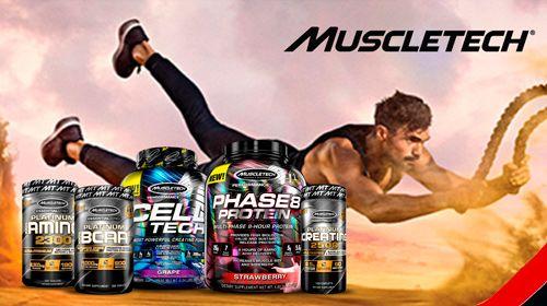 MuscleTech - Die #1 Bodybuildung-Brand aus den USA!