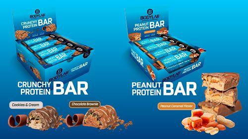 Neue Protein Riegel bei Bodylab24 - SCHON PROBIERT?