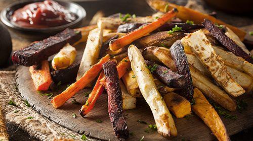 Groentefriet met Low Cal Bodylab Sauzen