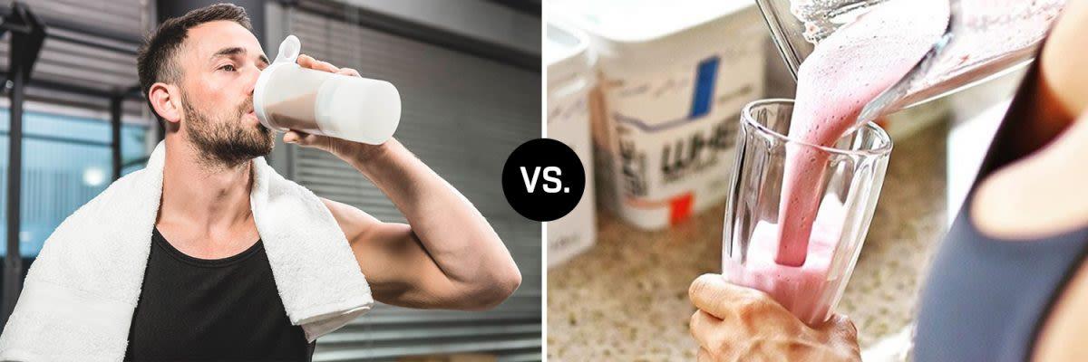eiwtshake vs. weight gainer