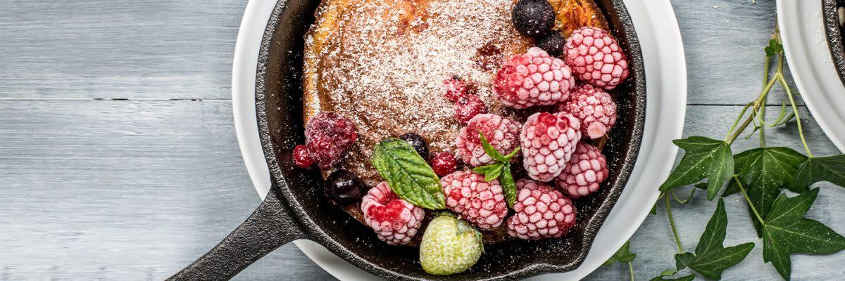porridge met frambozen
