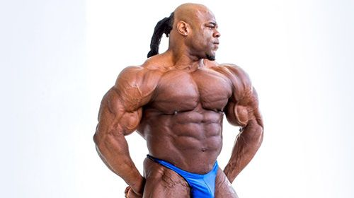Close In Beeld - Kai Greene