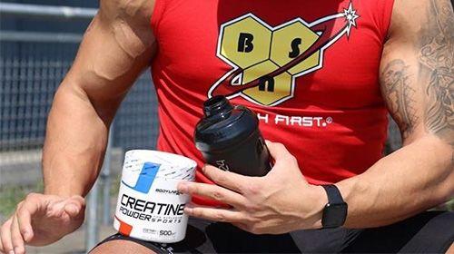 Creatine en alcohol maken de spieren dorstig