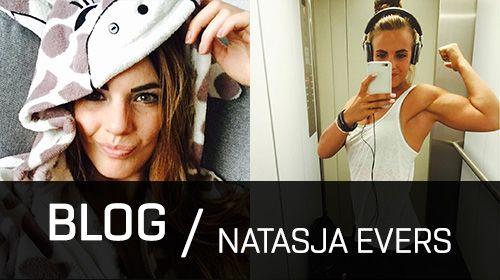 Natasja Evers - Buiten trainen!