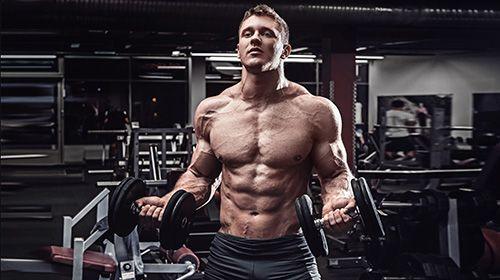 Trainen voor spiermassa