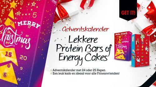 De Adventskalender nu verkrijgbaar bij Bodylab24! - Open 24x een deurtje tot aan Kerstmis!
