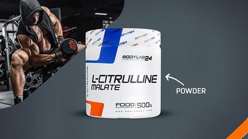 Nieuwe producten bij Bodylab - L-citrulline malaat