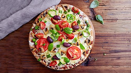 Low Carb-Pizza – vegetarisch lecker!