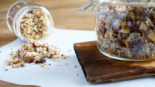 Paleo Müsli: Ohne Zucker und Getreide