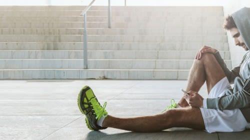Regeneration beim Muskelaufbau