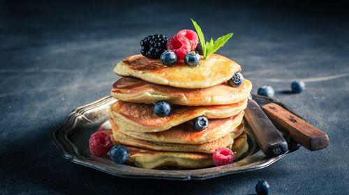 Gesunde Protein-Pancakes
