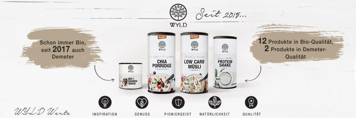 Übersicht WYLD-Produkte