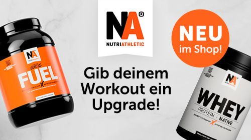 NUTRIATHLETIC® – Supplements ganz ohne Bullshit!